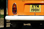 Orange Camper