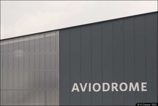 Outside the Aviodrome